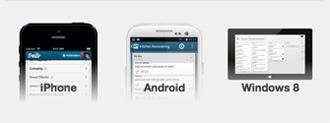 Aplicación para Android, iPhone y Windows 8