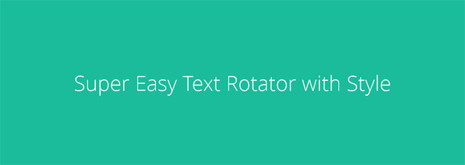 Easy Text Rotator