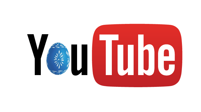 Huevos de pascua en Youtube