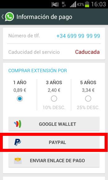 Opciones binarias de la aplicación de día de pago