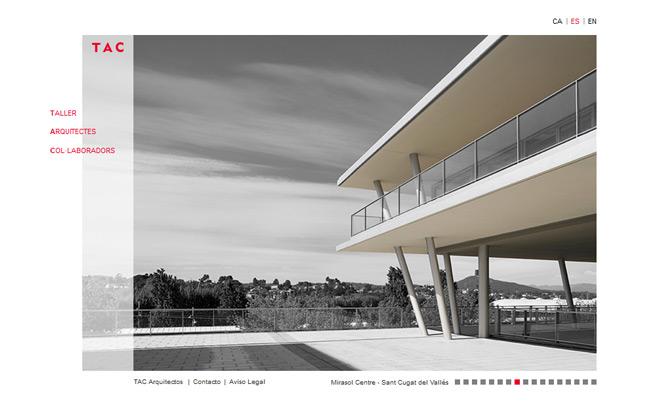 Presentacion web TAC Arquitectes