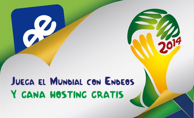 Juega el mundial de brasil y ganas hosting gratis