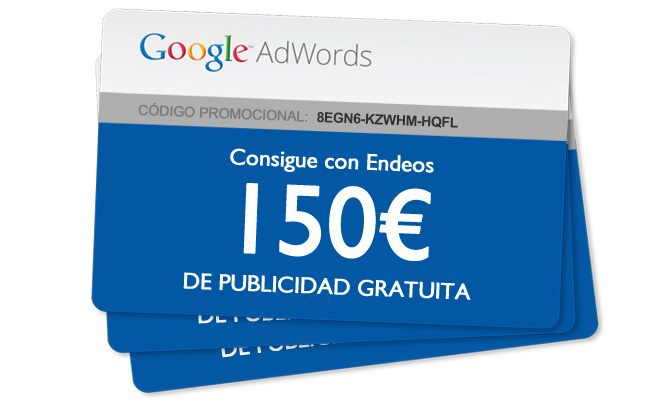 Cupón Google AdWords 150€