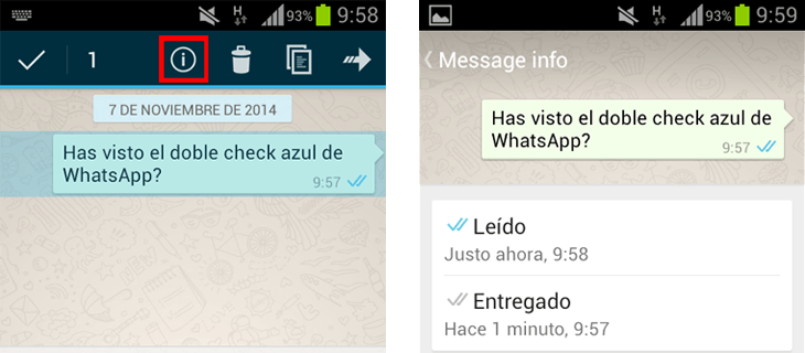 Botó Información WhatsApp