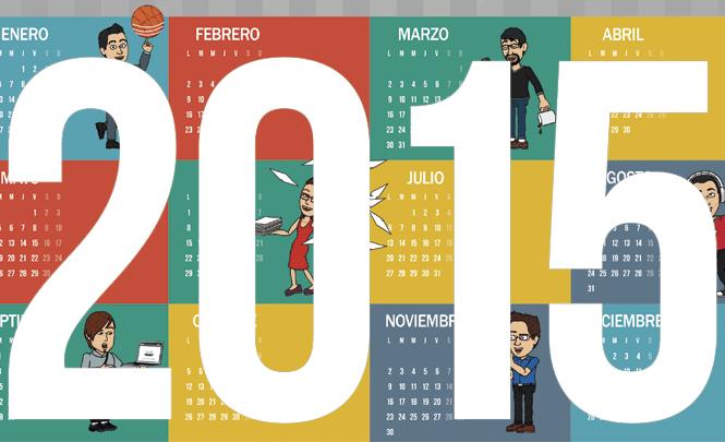 Calendario 2015 Endeos