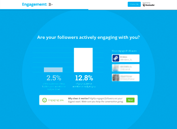 Engagement respuesta