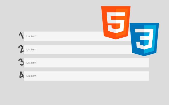 Lleva las listas HTML al siguiente nivel con CSS