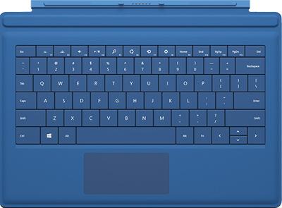 Surface Pro 3 - teclado