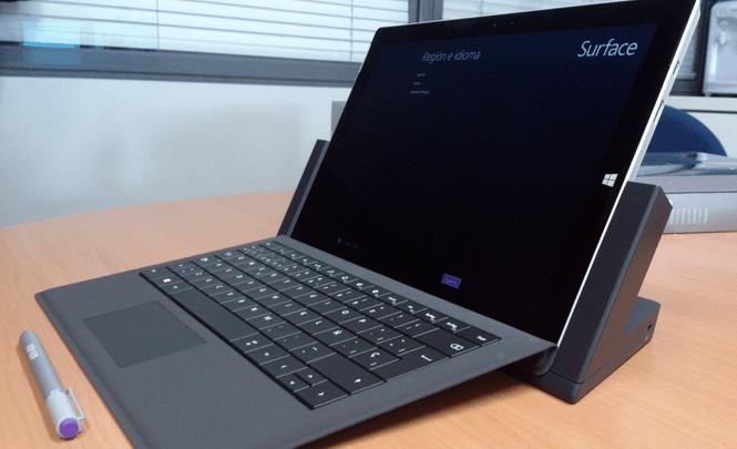 Surface Pro 3 de Microsoft