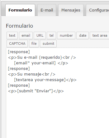 Contact Form 7 multiple response