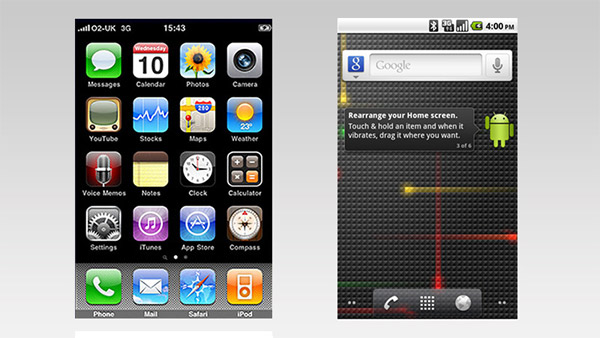 Los inicios de iOS y Android
