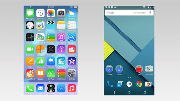 El presente de iOS y Android