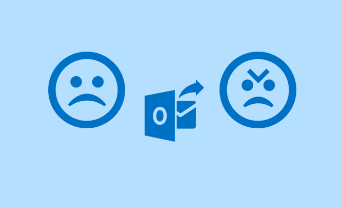 Truco de Outlook para cuando metas la pata hasta el fondo