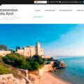 Presentación web Apartamentos Cala Azul