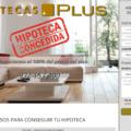 Presentación web Hipotecas Plus