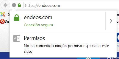 Sitio seguro en Firefox