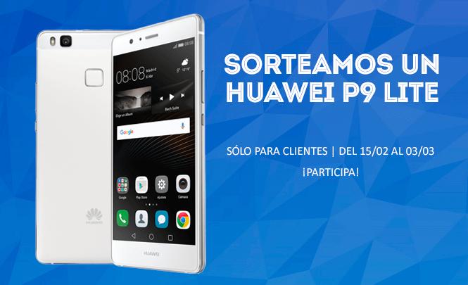 Sorteamos un Huawei P9 Lite