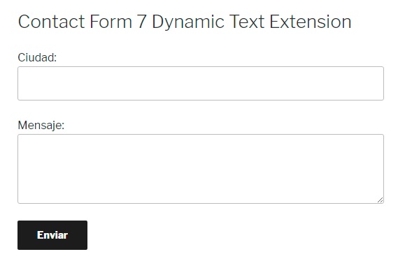 Rellenar automáticamente los campos de Contact Form 7