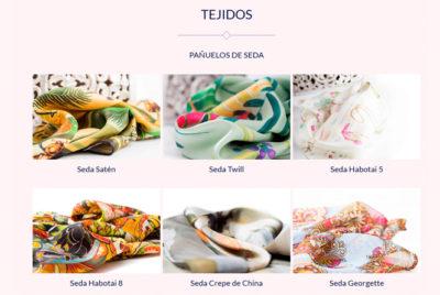 Luzdeseda nueva - Tejidos