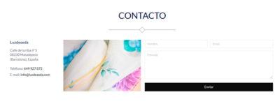 Luzdeseda nueva - Contacto