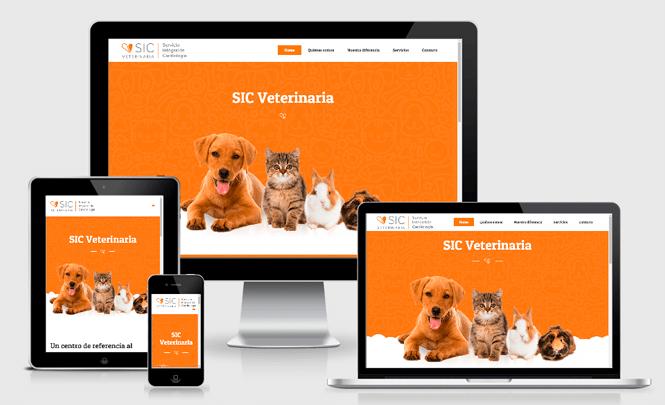 Presentación web SIC Veterinaria