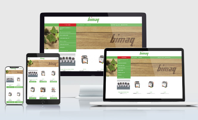 Presentación web Bimaq