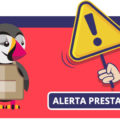 Alerta de seguridad PrestaShop