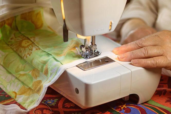 Aumentan las ventas por Internet de máquinas de coser